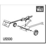 Flames of War US500 M3 37mm gun (x2)