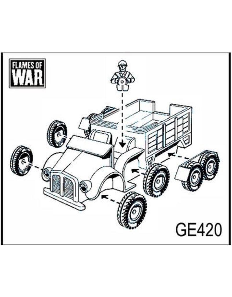Flames of War GE420 German Krupp Kfz 70 truck
