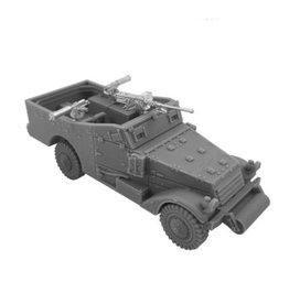 Trenchworx Trenchworx White Scout Car 1/56