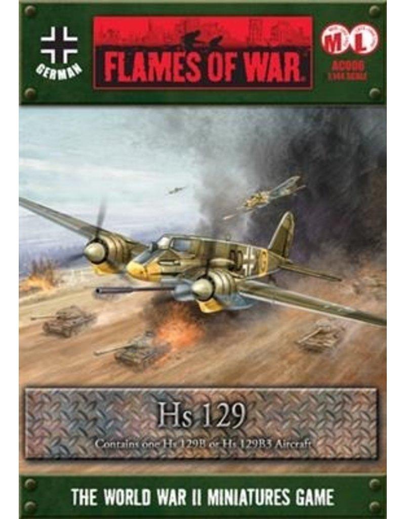Flames of War AC006 HS 129 (1:144)