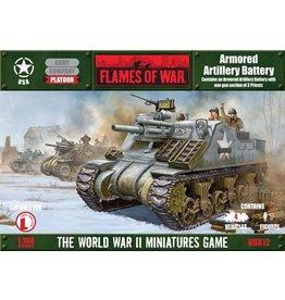 Flames of War UBX12 Armored Artillery Battery