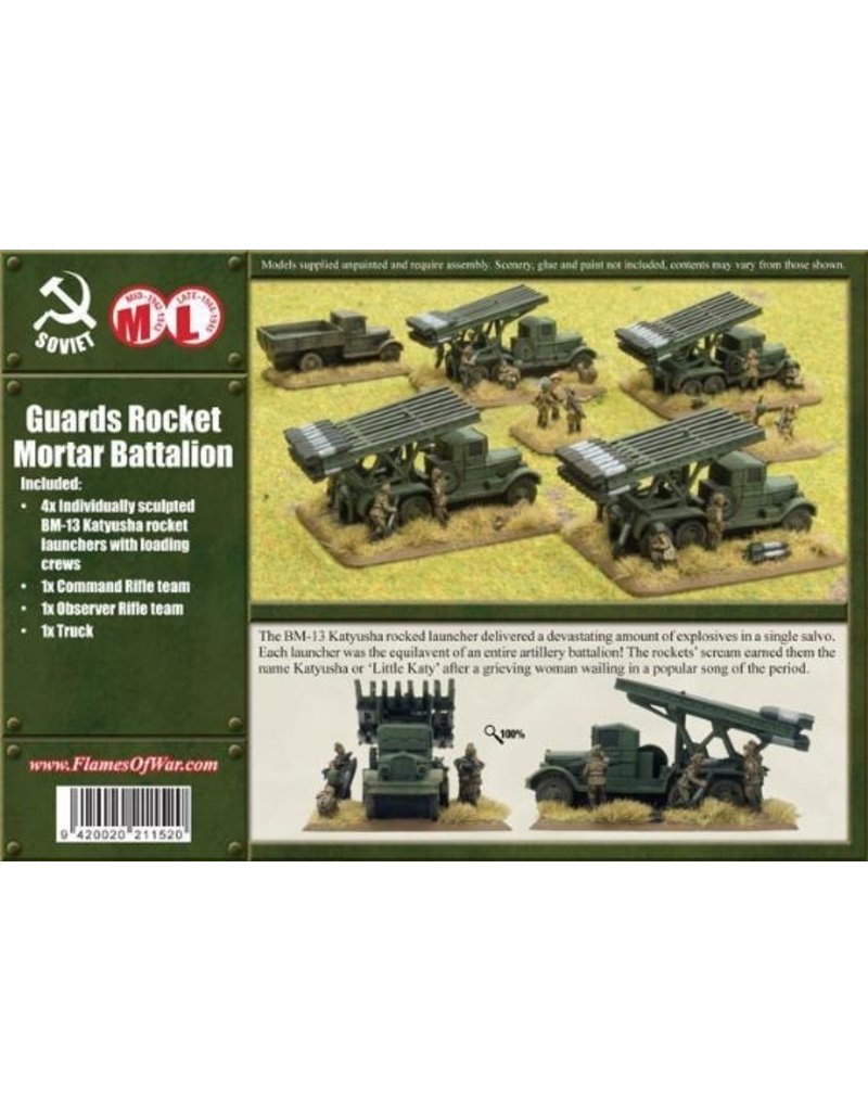Flames of War SBX07 Katyusha Rocket Battery
