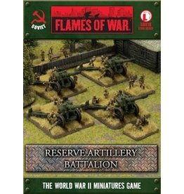 Flames of War SBX18 Reserve Artillery Battalion