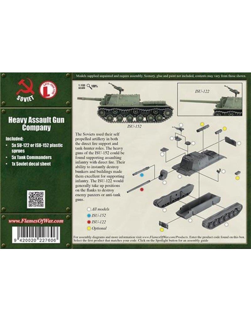 Flames of War SBX37 Heavy Assault Gun Company (Plastic)