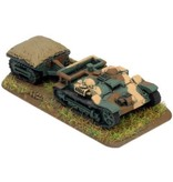Flames of War FR211 Renault UE Carrier & Trailer