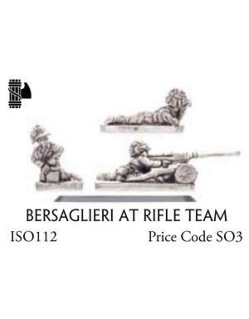 Flames of War ISO112 Bersaglieri AT Rifle Team