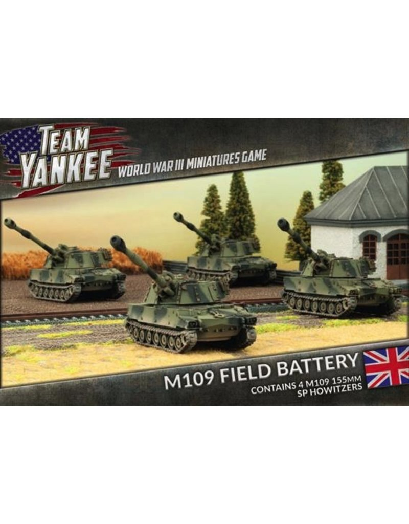 Team Yankee TBBX08 M109 Field Battery