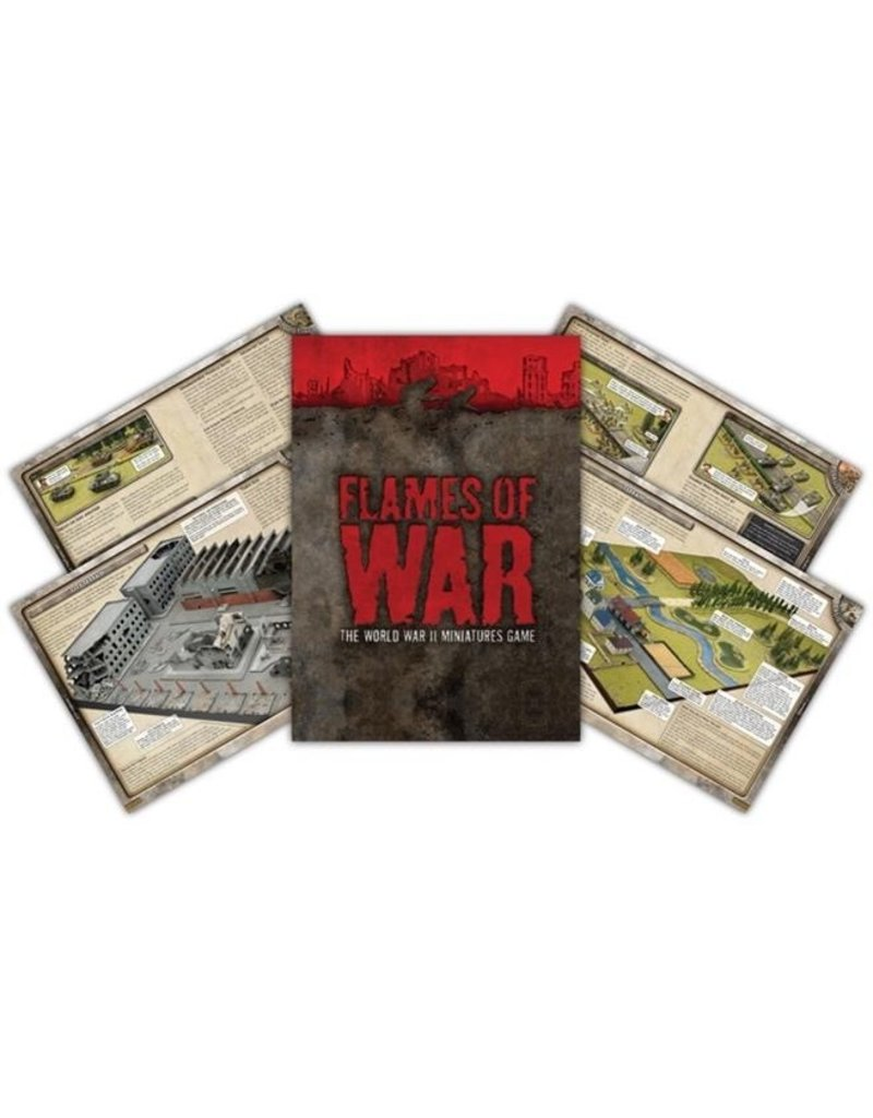 Flames of War FW003M FOW 3rd Edition Rulebook - Pocket Edition