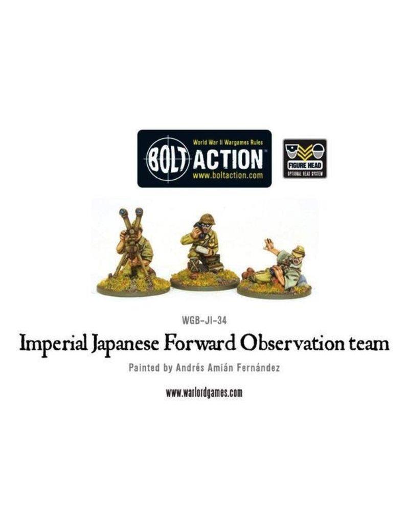 Bolt Action BA Japanese Army: FOO Team