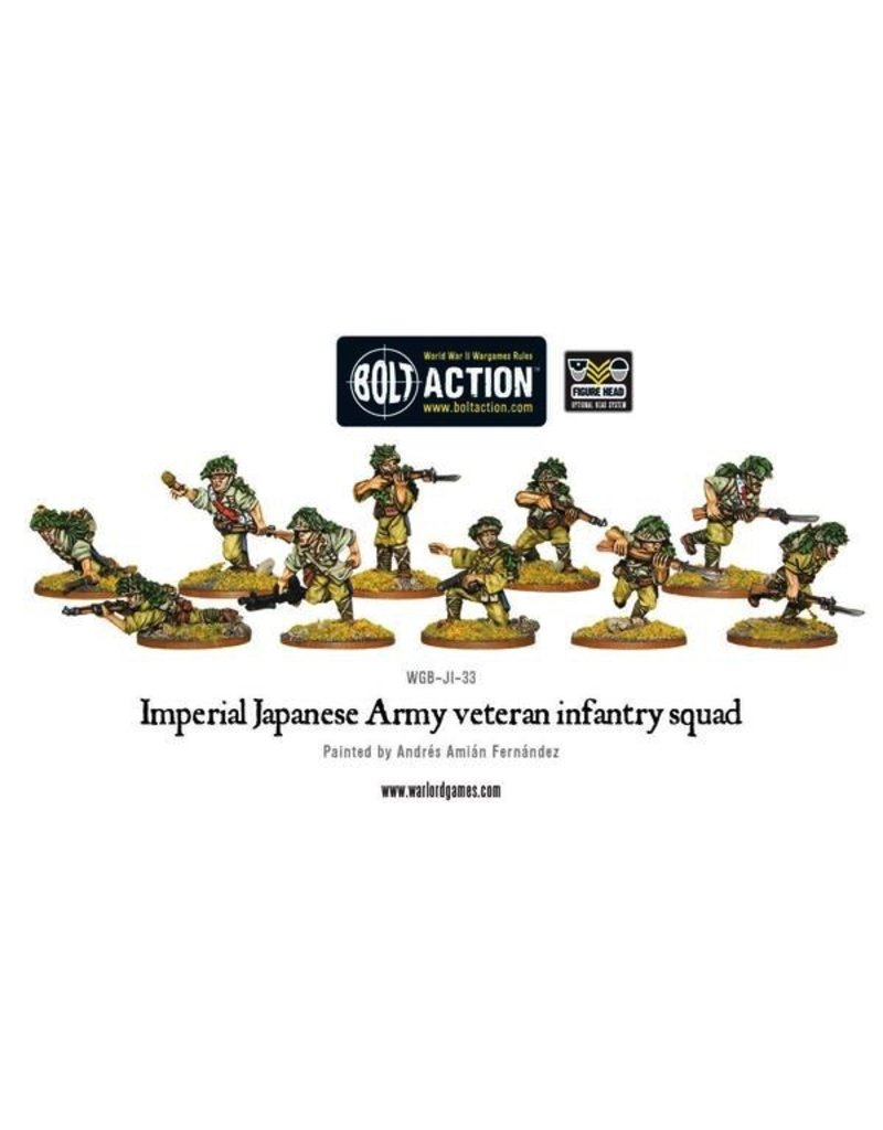 Bolt Action BA Japanese Army: Imperial Japanese Army Infantry Veteran Squad