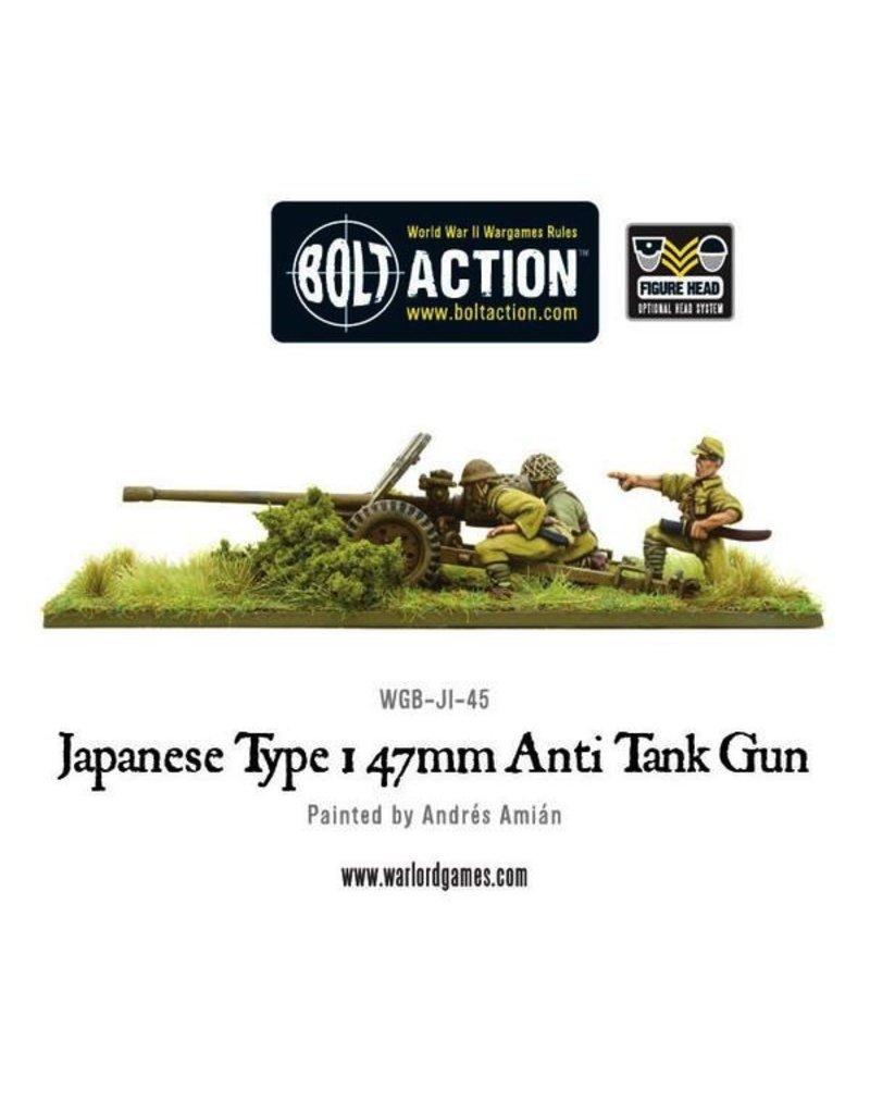 Bolt Action BA Japanese Army: Type 47mm Anti Tank Gun