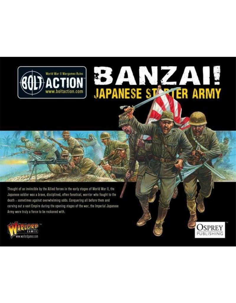 Bolt Action BA Banzai - Japanese Starter Army