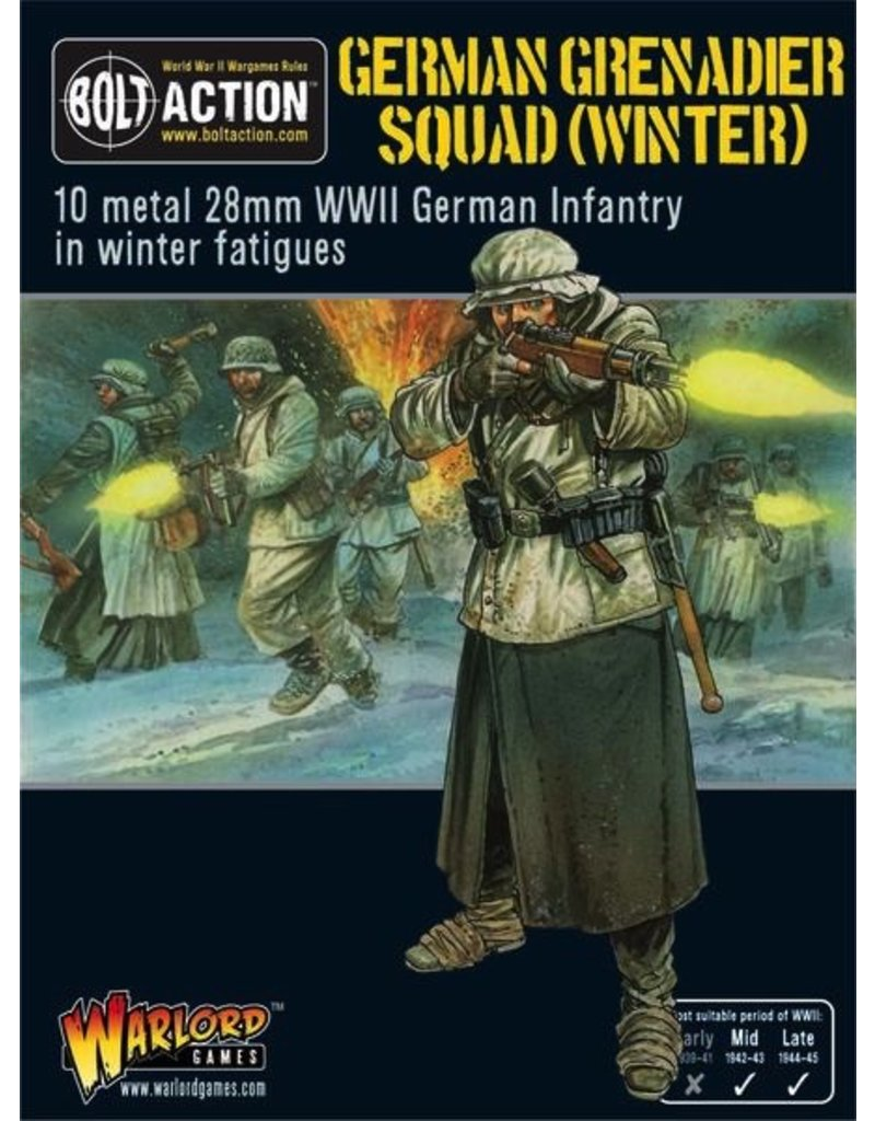Bolt Action BA German Army: German Grenadiers in Winter Clothing