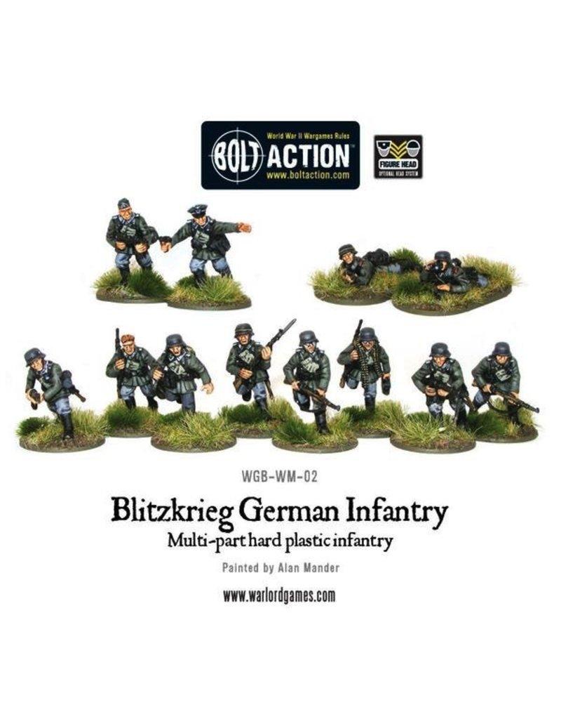Bolt Action German Army: Blitzkrieg! German Infantry Box
