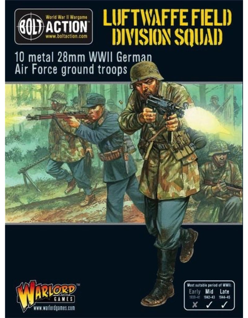 Bolt Action BA German Army: Luftwaffe Field Division Squad