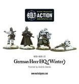 Bolt Action BA German Army: Heer/SS HQ (Winter)