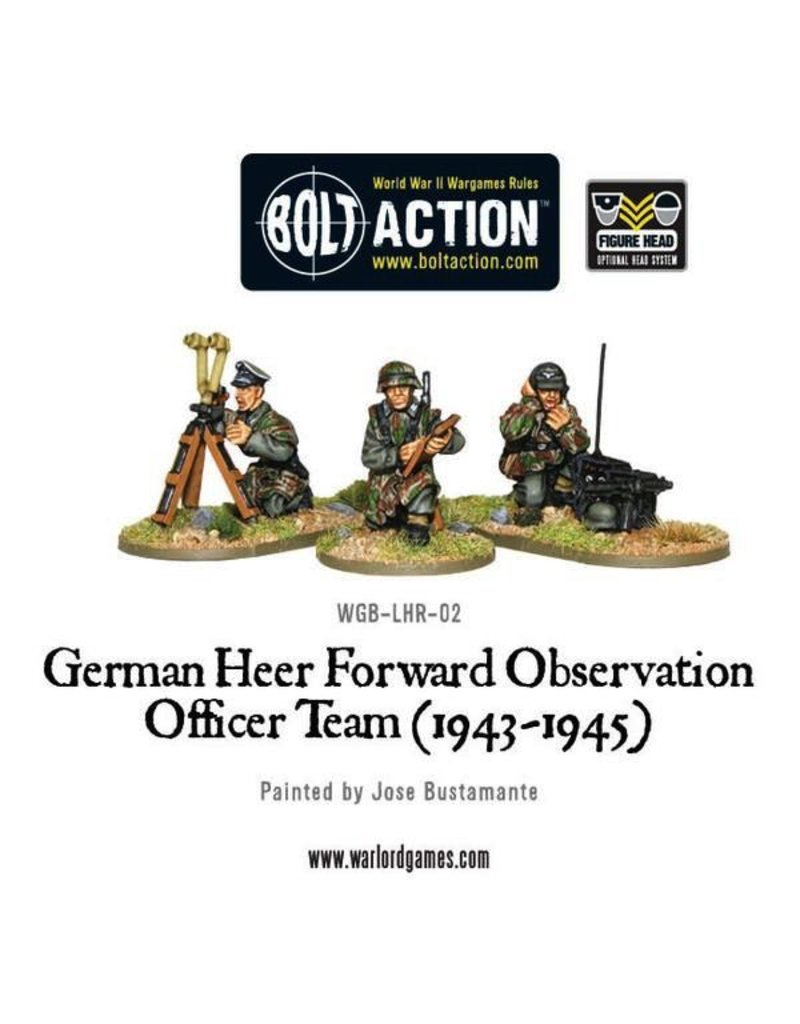 Bolt Action BA German Army: Heer FOO Team (1943-45)