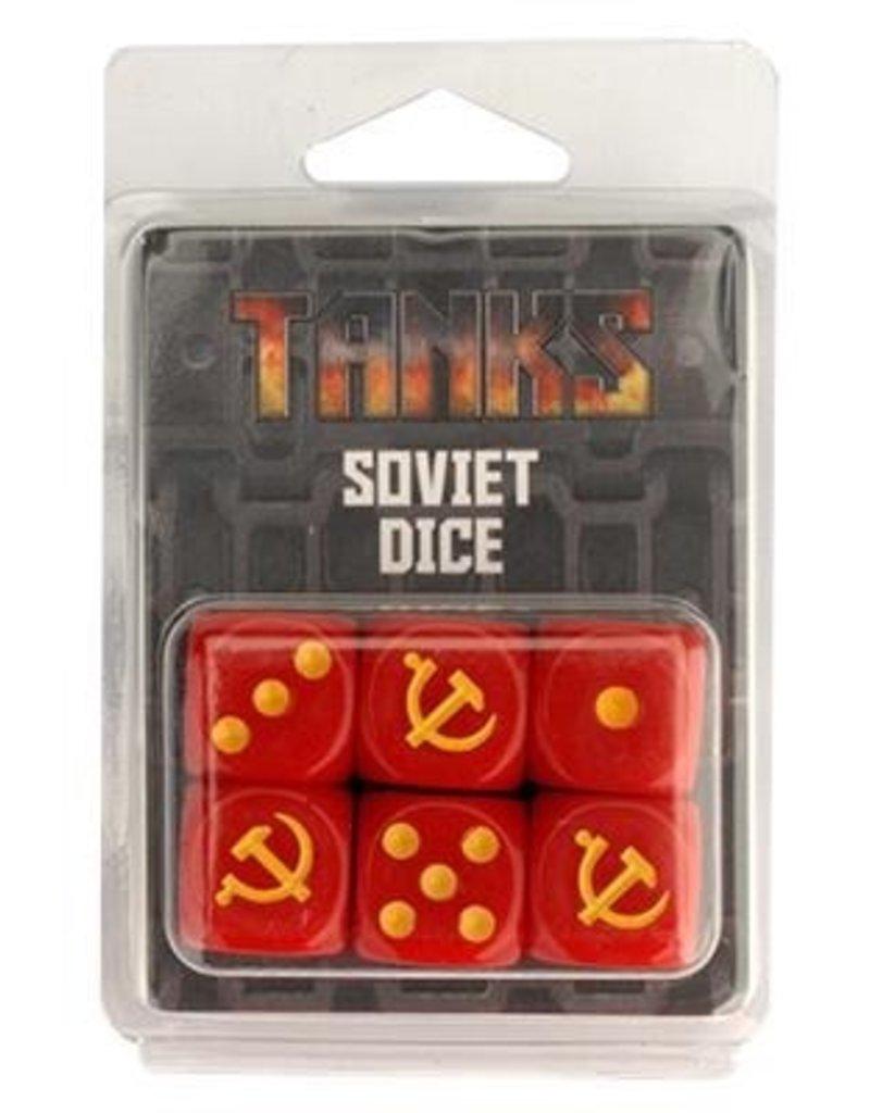 GF9 TANKS TANKS: Soviet Dice Set (6)
