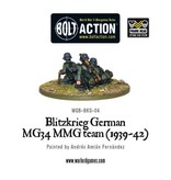 Bolt Action BA German Army: Blitzkrieg MG34 MMG Team