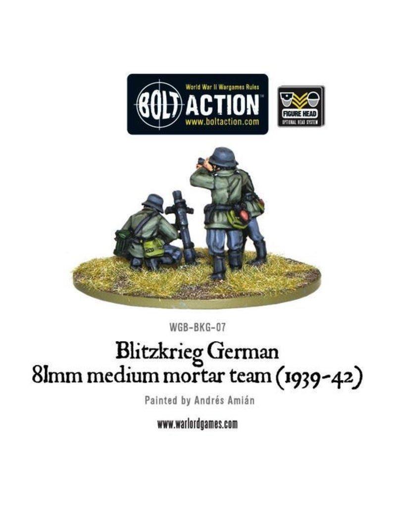 Bolt Action BA German Army: Blitzkrieg 81mm Medium Mortar