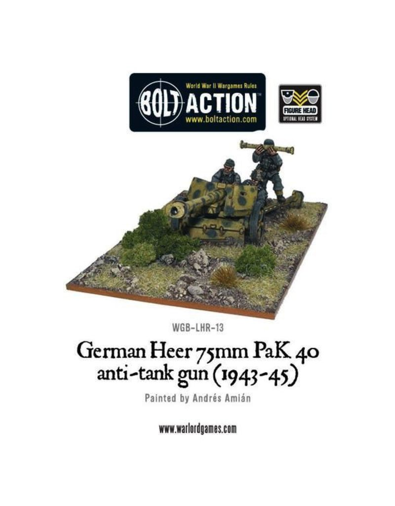 Bolt Action BA German Army: Heer PaK 40