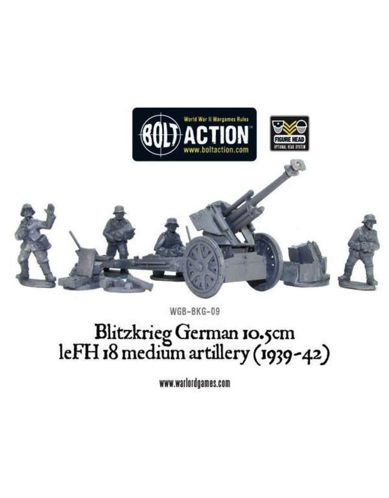 Bolt Action BA German Army: Blitzkrieg IeFH 18 10.5cm Howitzer