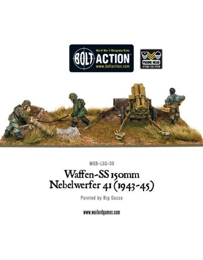 Bolt Action BA German Army: Waffen-SS 150mm Nebelwerfer 41 (1943-45)
