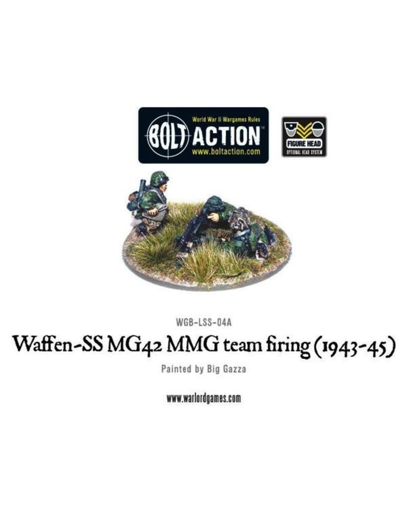 Bolt Action BA German Army: Waffen-SS MG42 MMG Team Firing (1943-45)