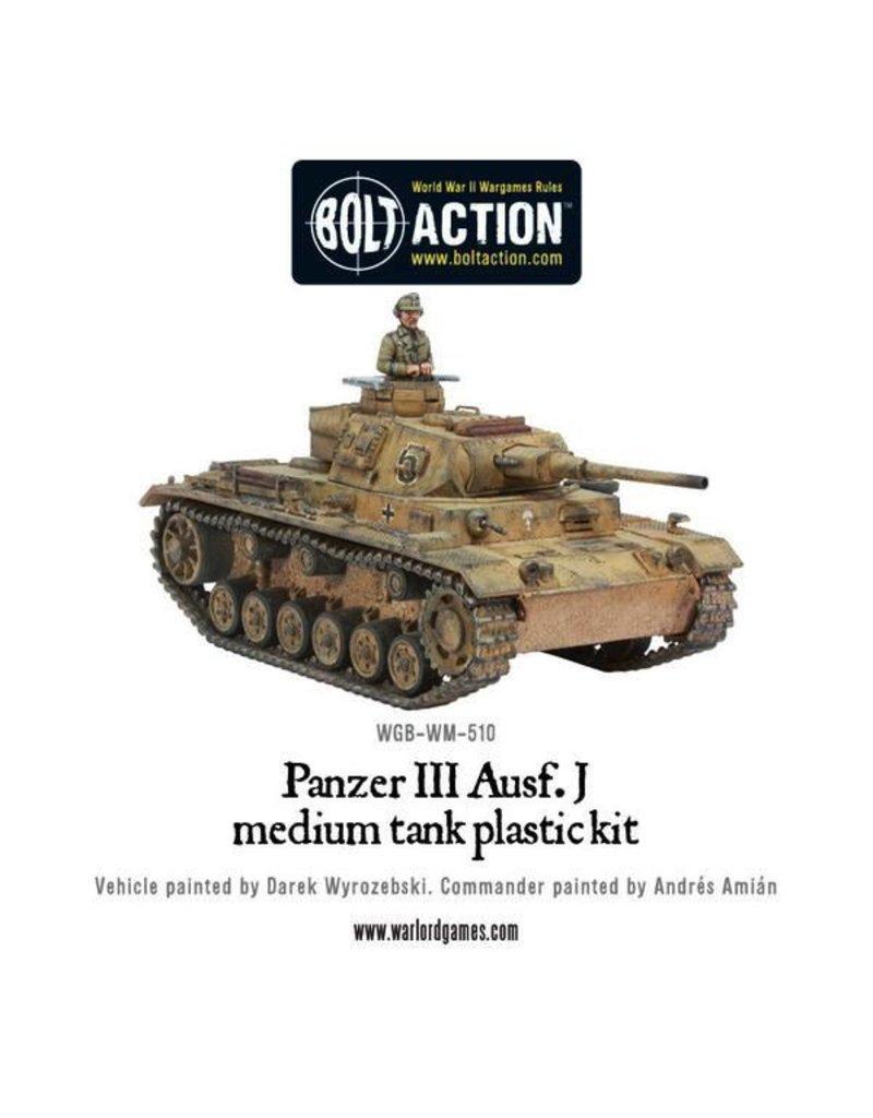 Bolt Action BA German Army: Panzer III (Plastic)