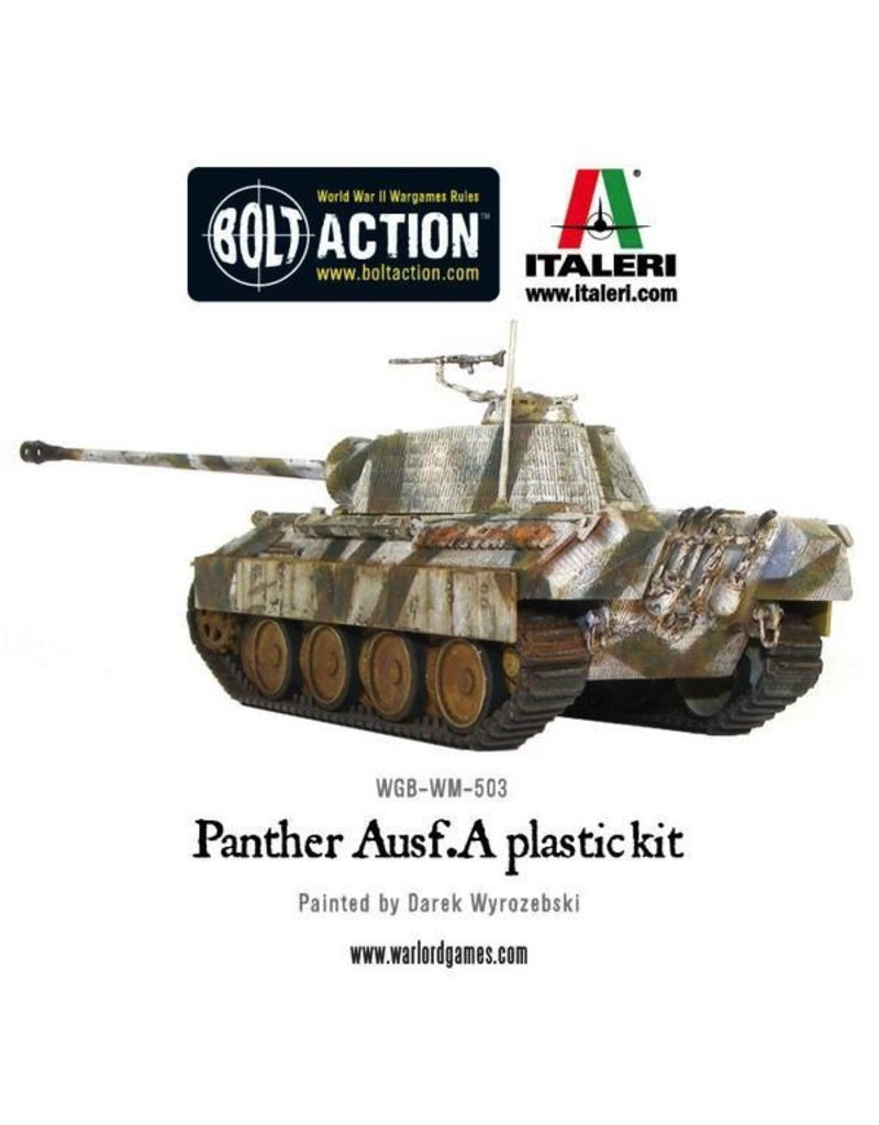 Bolt Action BA German Army: Panther Ausf A