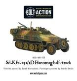 Bolt Action BA German Army: Sd.Kfz 251/1 Ausf D Hanomag