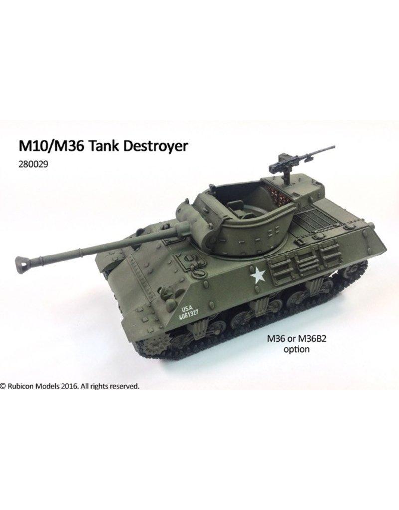 Rubicon Models 28mm Rubicon Models: (USA) M10/M36 Tank Destroyer