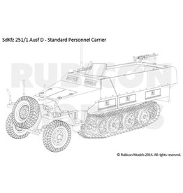 Rubicon Models 28mm Rubicon Models: SdKfz 251/1 Ausf D