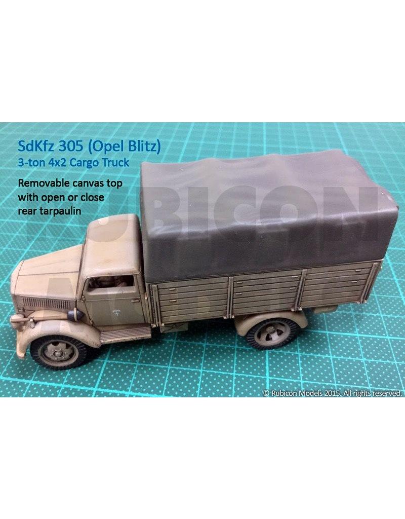 Rubicon Models 28mm Rubicon Models: SdKfz 305 3-ton 4x2 Cargo Truck