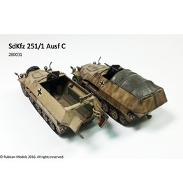 Rubicon Models DIRECT 28mm WWII: (German) SdKfz 251/1 Ausf C