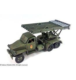 "Rubicon Models 28mm WWII: (Soviet) BM-13N ""Katyusha"" Rocket Launcher"