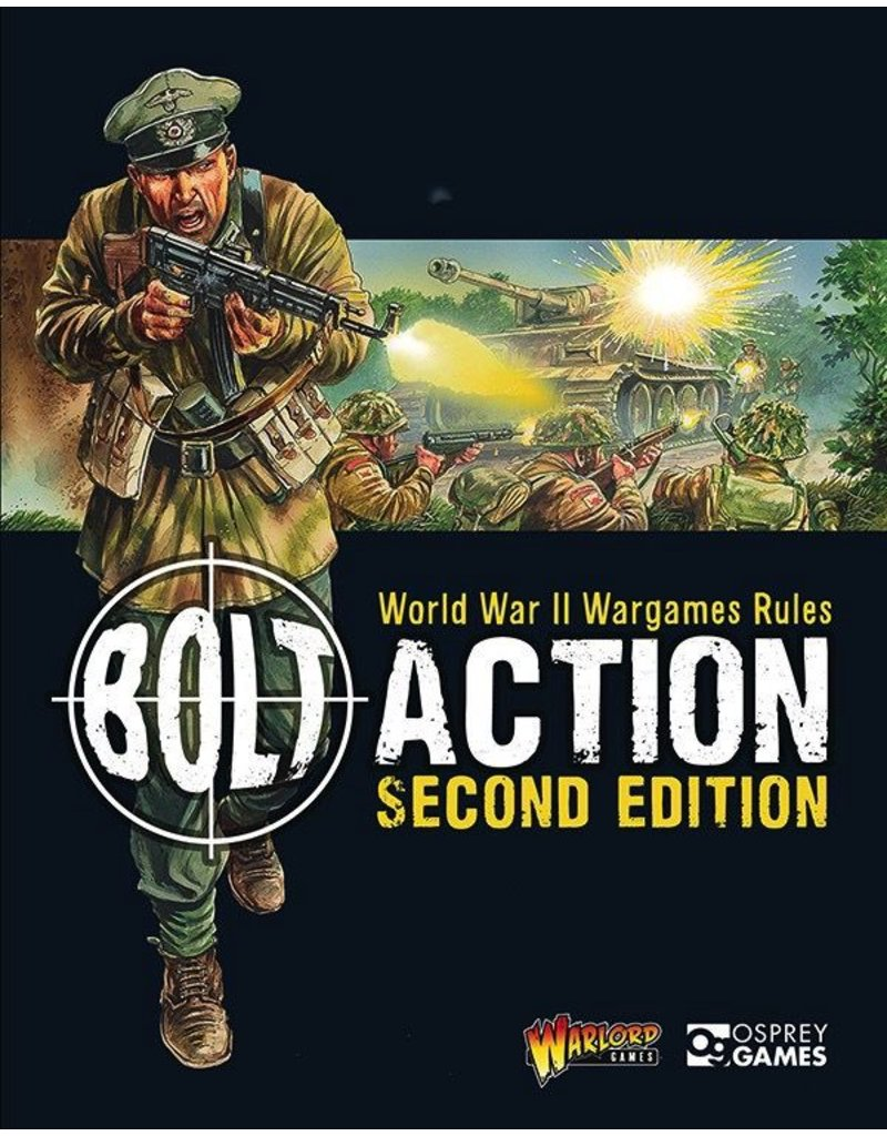 Bolt Action Bolt Action Second Edition Rulebook