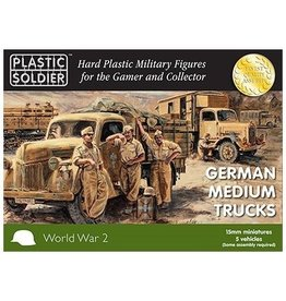 Plastic Soldier Company German Opel Blitz Medium Trucks