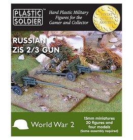 Plastic Soldier Company Soviet Zis 2 and 3 Anti Tank / Field Gun