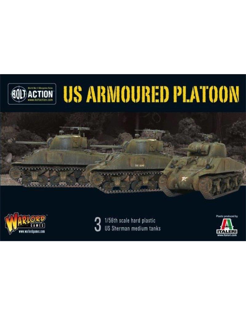 Bolt Action Bolt Action Starter Set - US Armoured Platoon (3 Shermans)