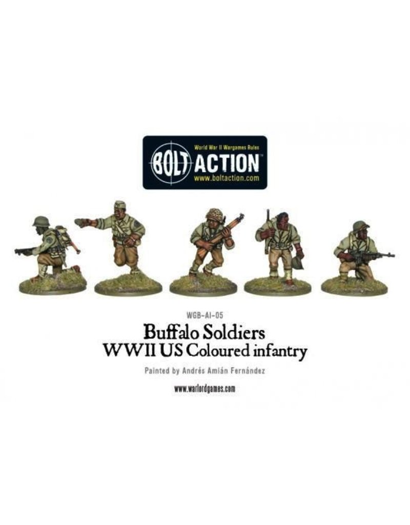 Bolt Action BA American Army: Buffalo Soldiers