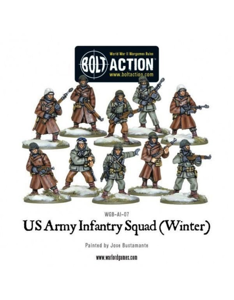 Bolt Action BA American Army: US ARMY Infantry Squad in Winter Clothing