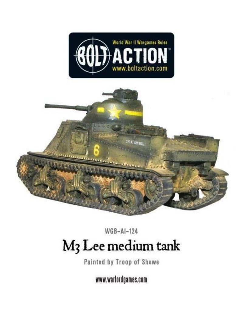Bolt Action BA American Army: M3 Lee Tank
