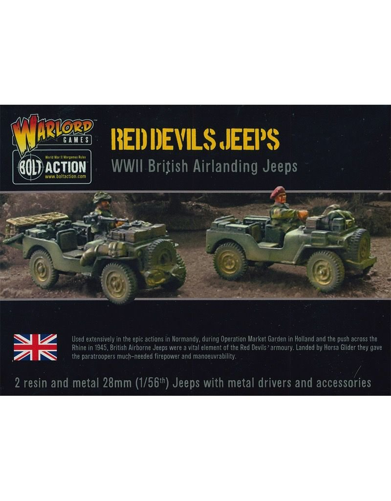 Bolt Action BA British Army: Red Devils' Jeeps (2)