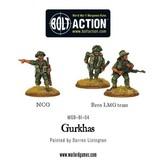 Bolt Action BA British Army: Gurkhas