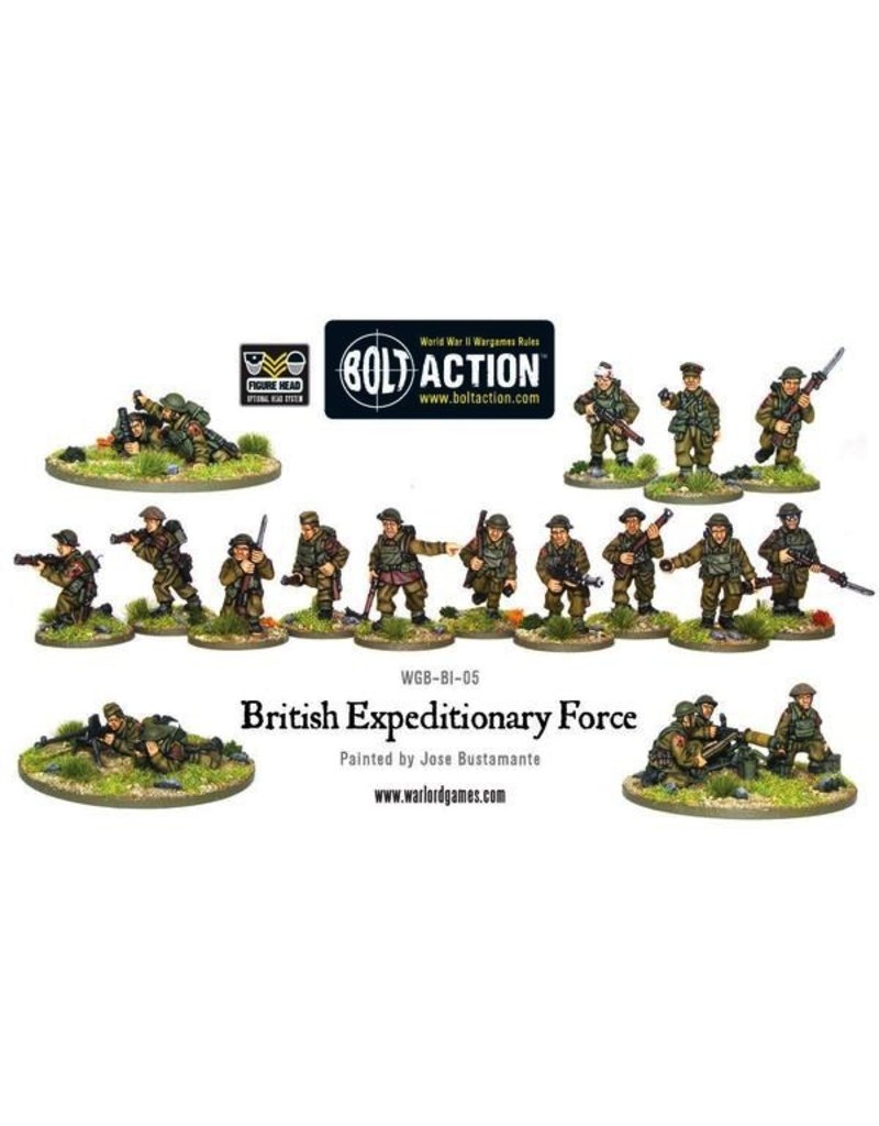 Bolt Action BA British Army: Expeditionary Force