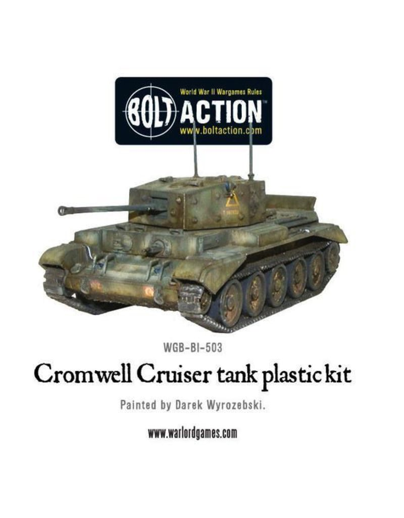 Bolt Action BA British Army: Cromwell Cruiser Tank