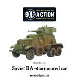 Bolt Action BA Soviet Army: BA-6 Armored Car