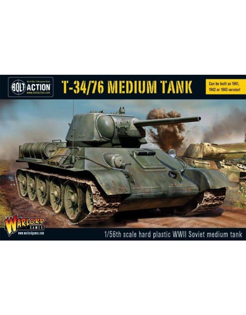 Bolt Action BA Soviet Army: T34/76 Medium Tank (Plastic)