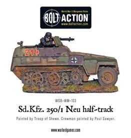 Bolt Action BA German Army: Sd/Kfz 250/1 - Neu Halftrack